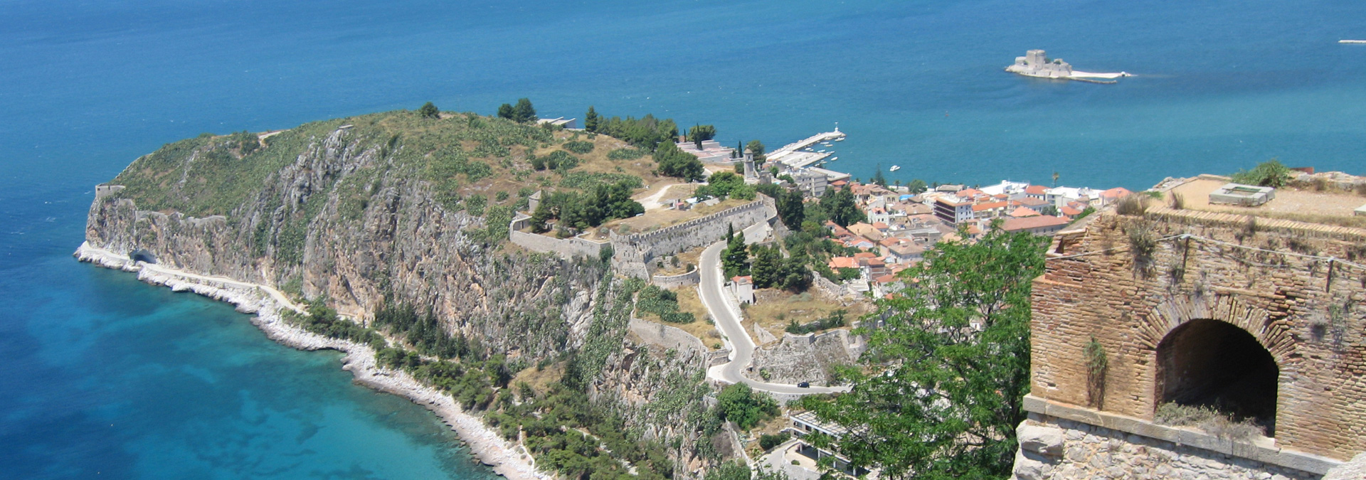 Nafplion view from Palamidi